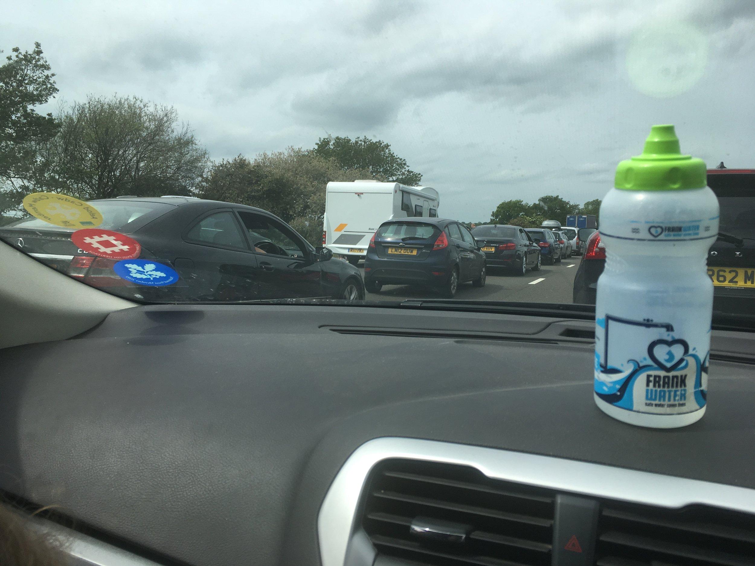 Traffic jams…