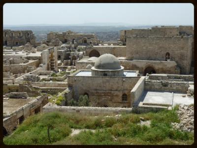 Citadel of Aleppo, Syria.By Bernard Gagnon.