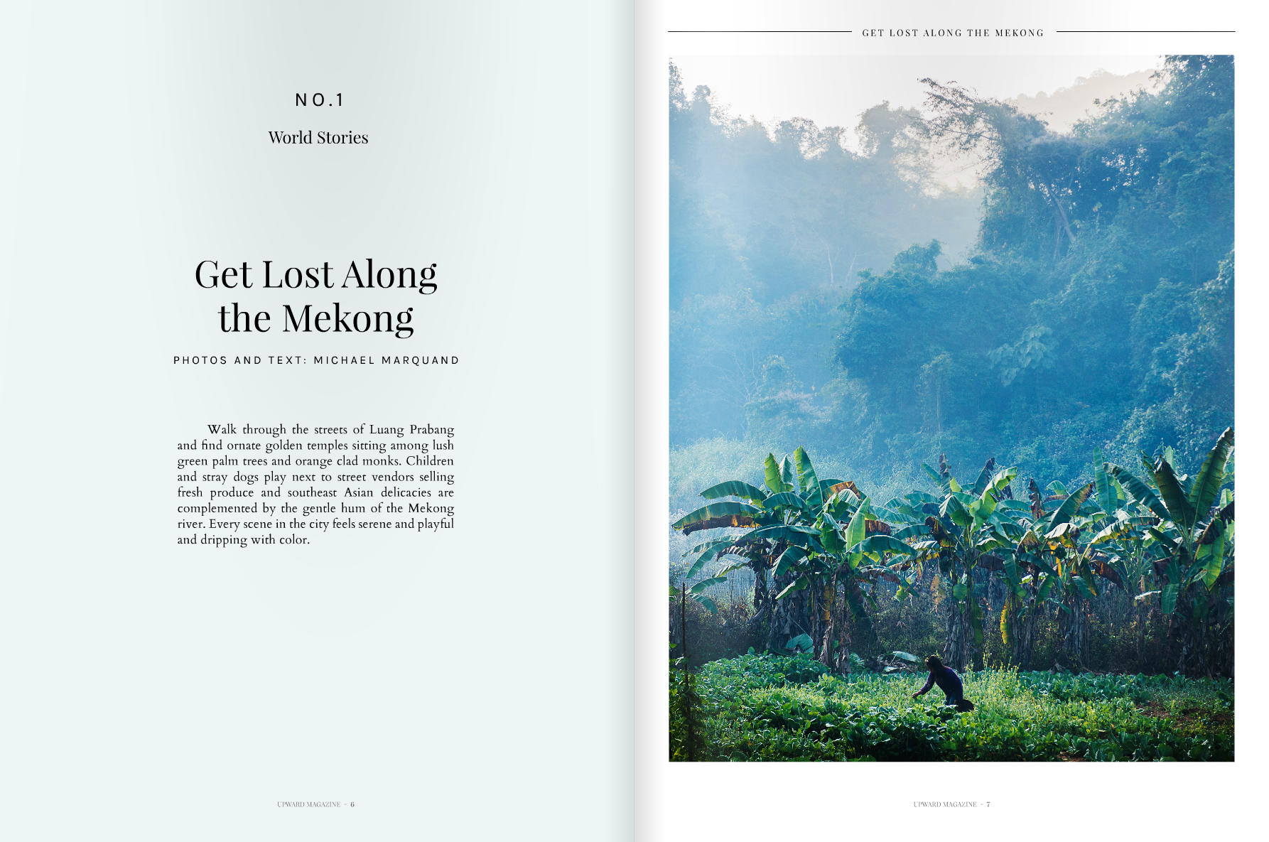 Get Lost Along the Mekong - Upward magazine