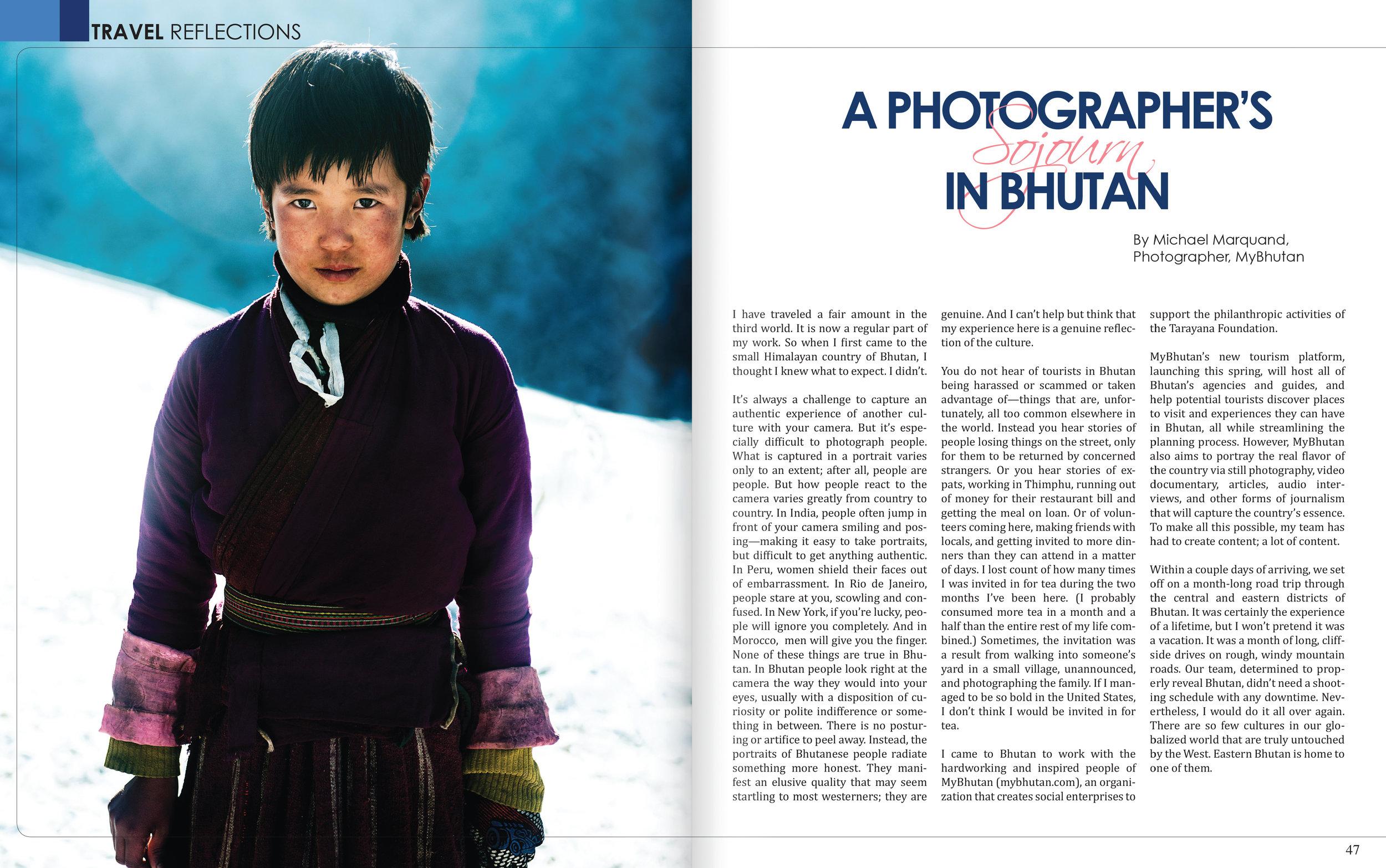 Travel Reflections- Bhutan