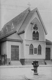 Original HTOC building in West Roxbury