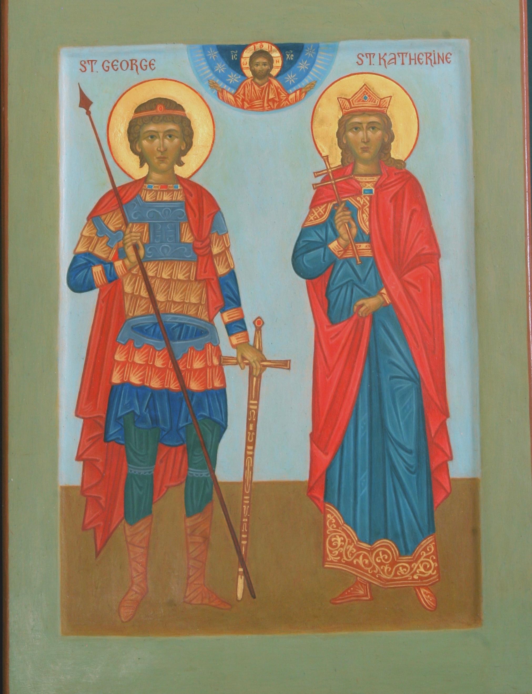 Saint George and Saint Catherine