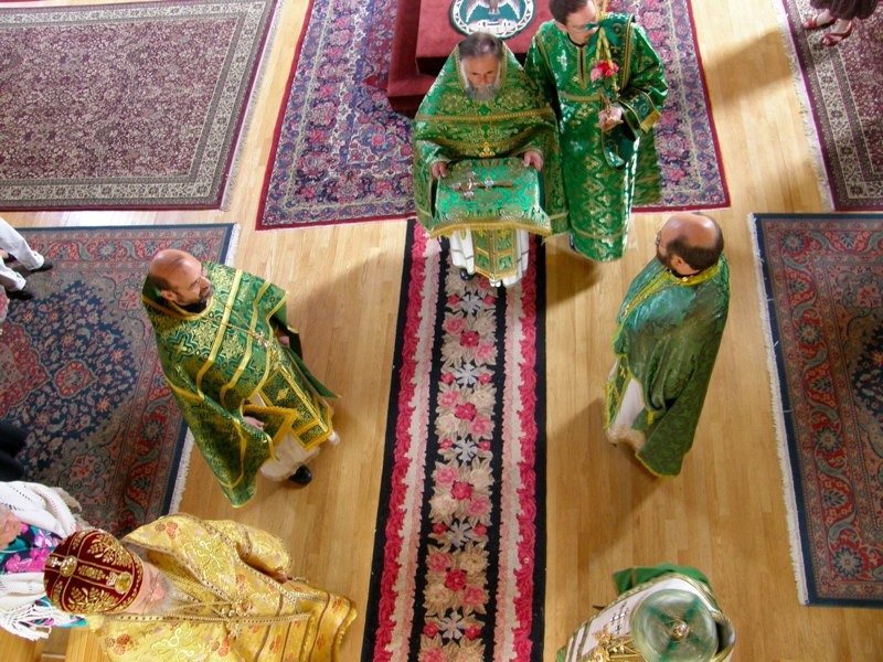 Liturgy and Vespers of Pentecost