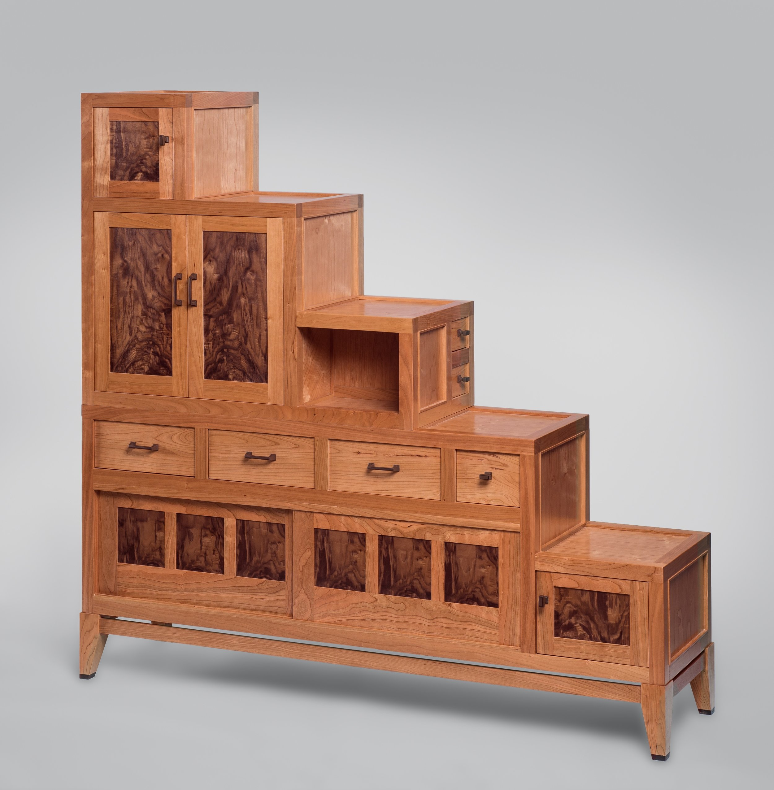 Modern Stepped Cabinet