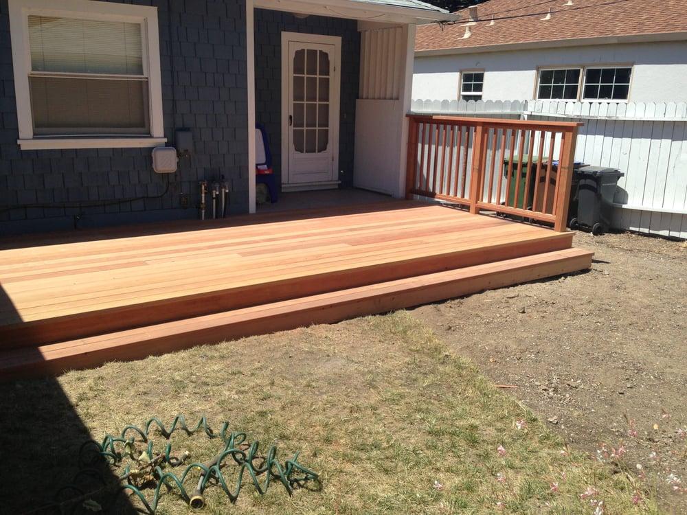 Deck built in 2013