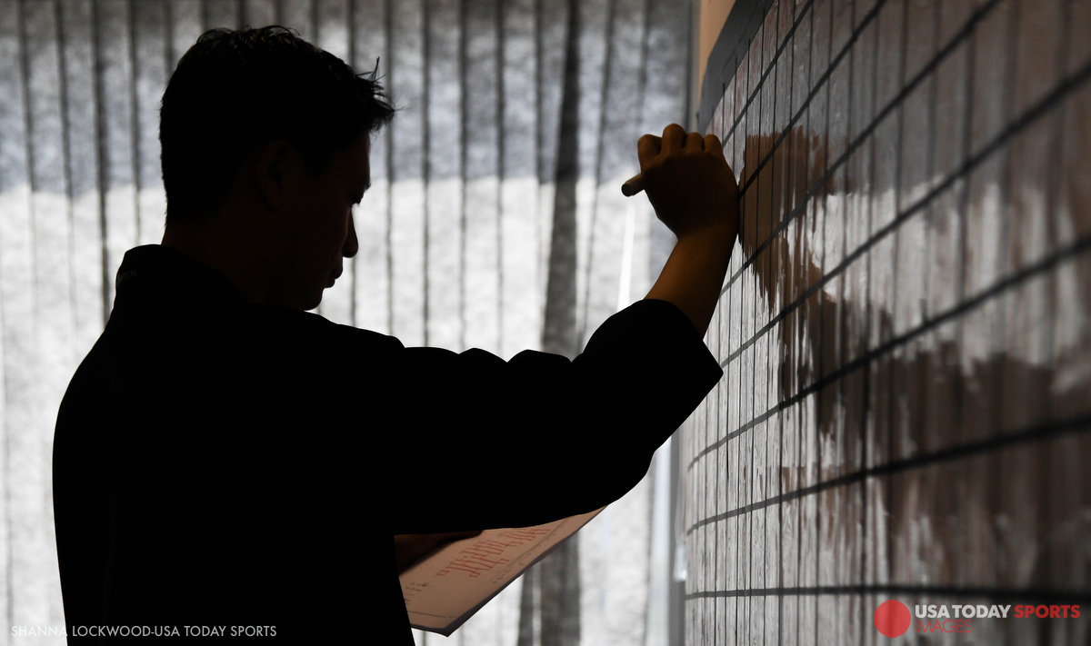 USA TODAY Sports Images director of photography Jerry Lai lays out the editor schedule.