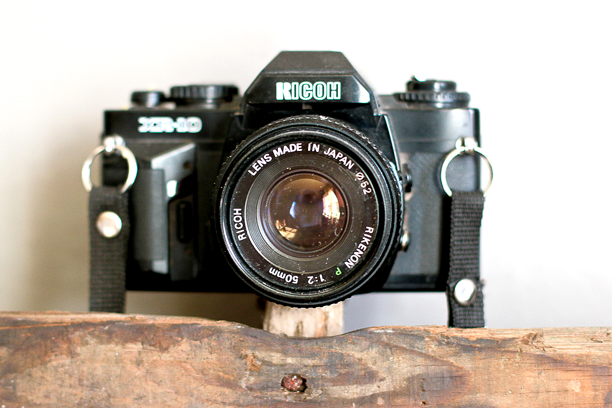 My first slr film camera, which I still use and love often.