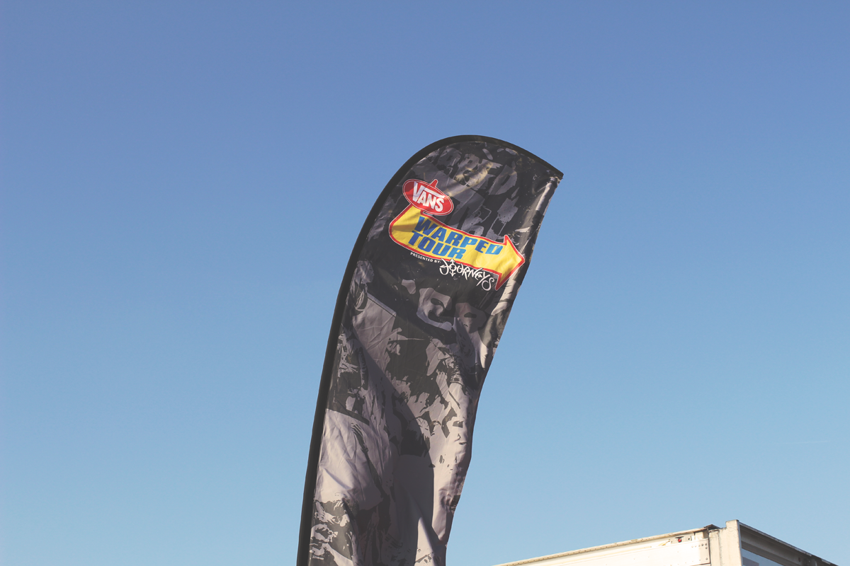 This year I had the honor of designing for Vans Warped Tour. It was a day filled with summer heat, old friends, and fun music. Great times!