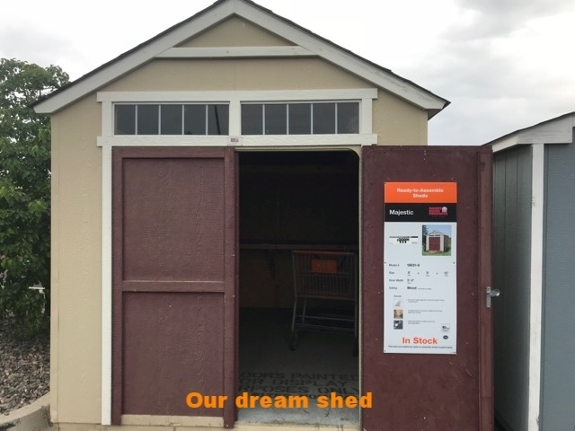 This is our dream shed… - We need your help to make our dream come true
