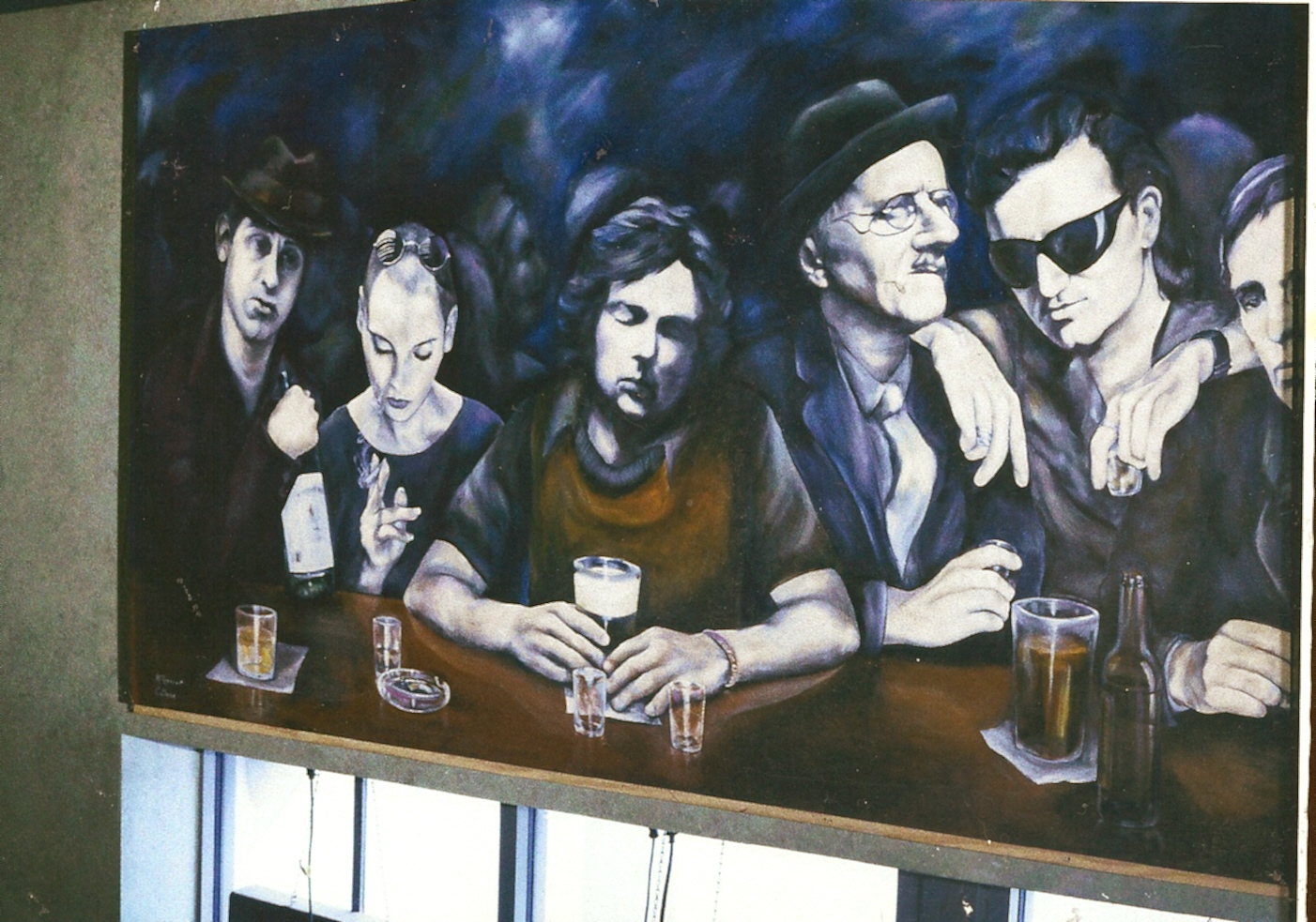 Murphys Law Irish Pub Mural