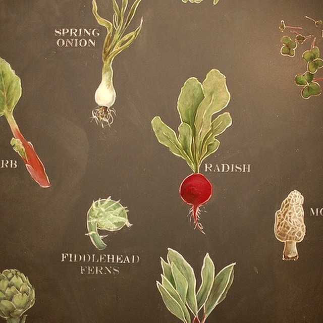 Seasonal Menu Board Detail