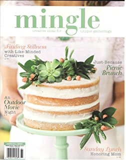 Mingle Magazine Cover