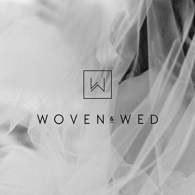 Loved helping my dear friend Brit design a fresh new logo for her company @wovenandwed! Everything this gal touches turns to pure gold✨Check out her work at wovenandwed.com