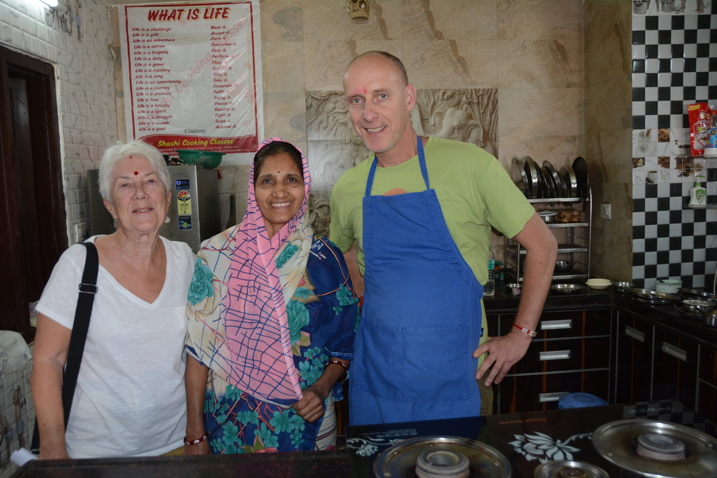 Shashi's Cooking School, Udaipur