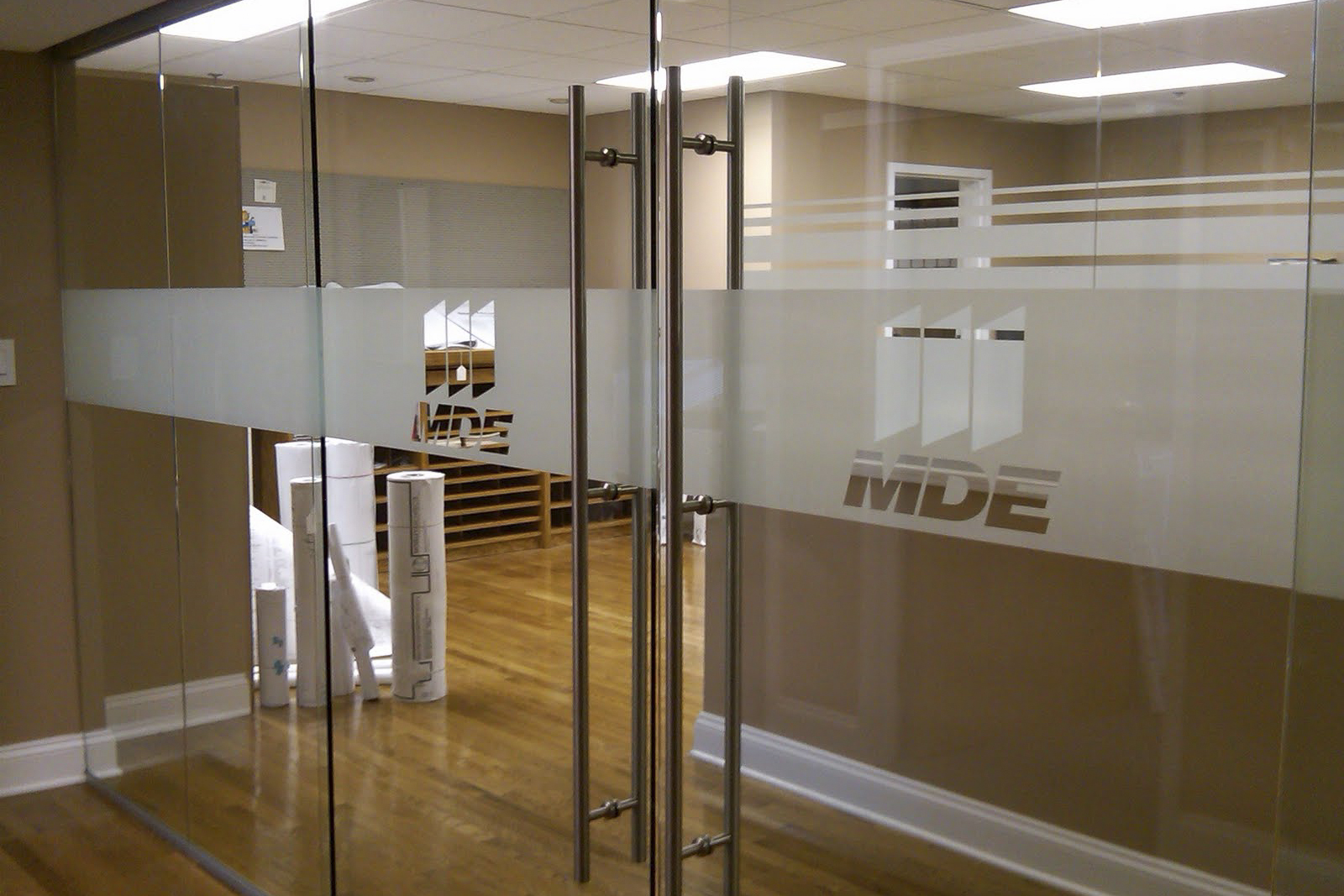 MDE Maryland - LogoDesign & Plotting by APGInstall by a local Baltimore company