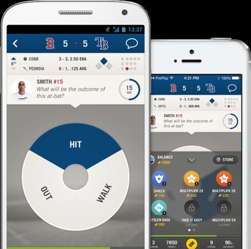"""Design de l'interface """"Sport US""""."""