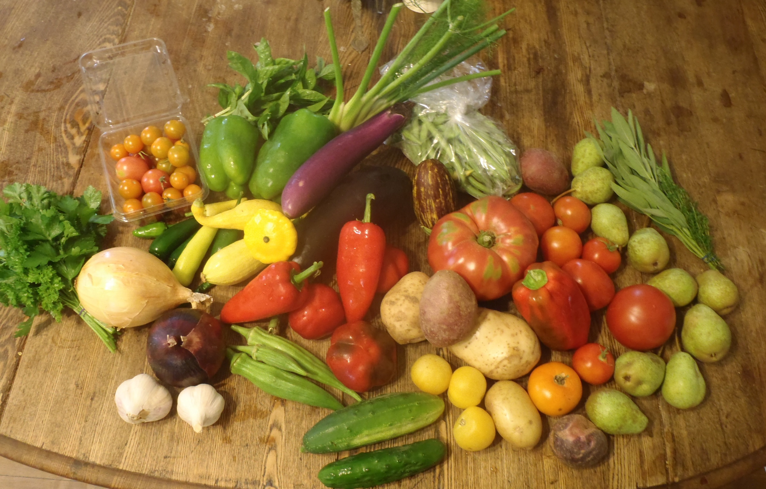 Mid-September CSA Share