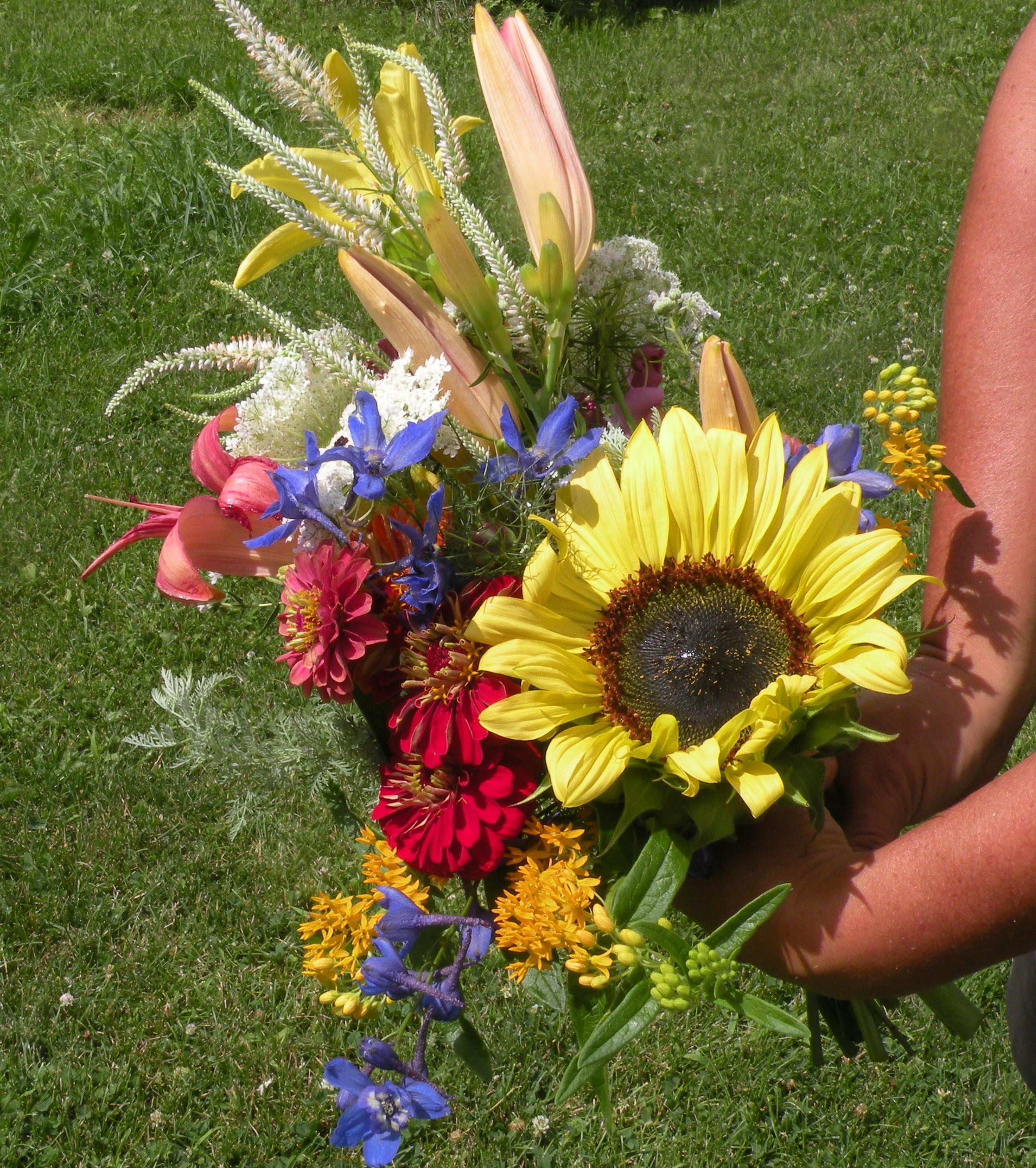 July 18 Flower CSA Bouquet