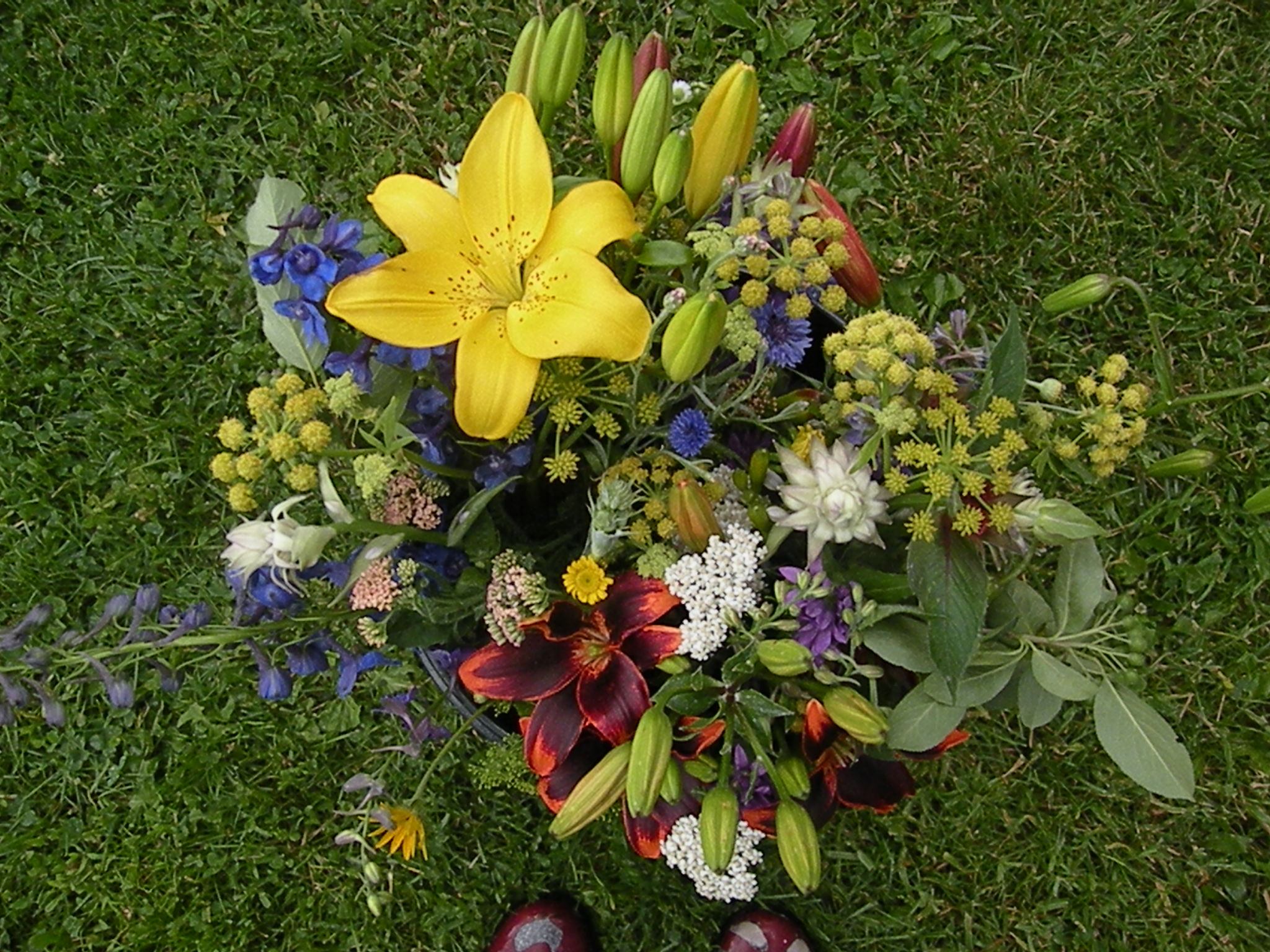 aerial view of 2 csa bouquets 6 - 25 - 17.jpg