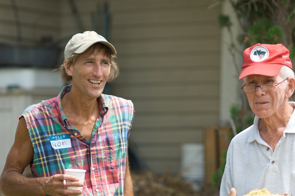 Farmer groups such as FRESH and Fair Share are about sharing knowledge, skills, and mutual support. Photo by John Peck