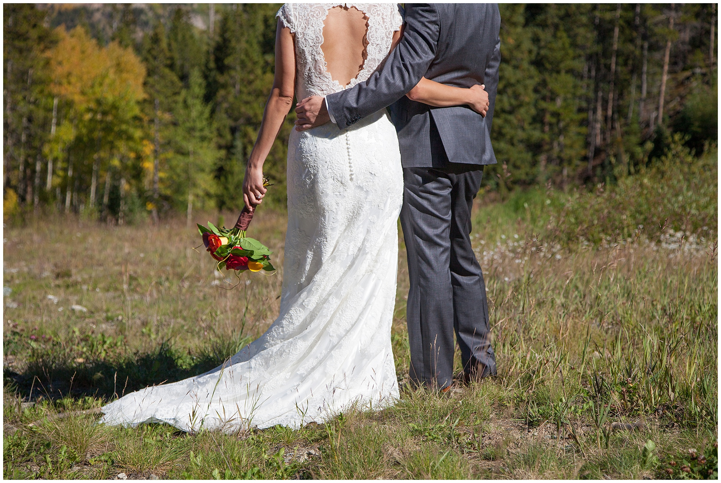 Mountain Wedding Bride and Groom | Sonja K. Photography | Ten Mile Station Breckenridge Colorado