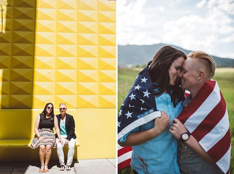 Denver Colorado Gay Couple Engagement Photography