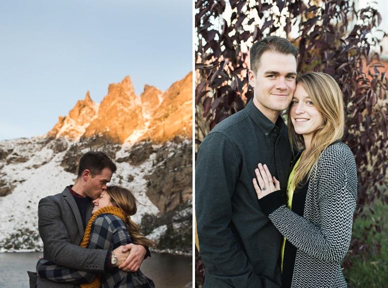 Engagement Photos   Sonja K. Photography   Dream Lake Rocky Mountain National Park Colorado