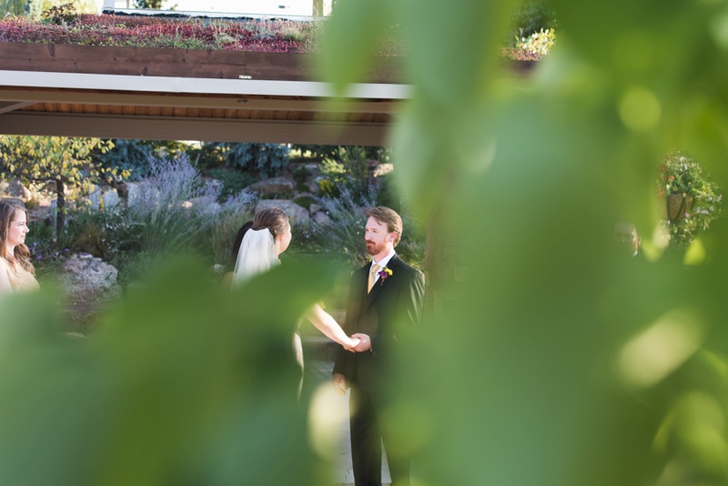 Wedding Ceremony | Sonja K. Photography | Gardens on Spring Creek Fort Collins Colorado