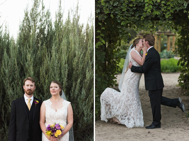 Wedding Photos Bride and Groom | Sonja K. Photography | Gardens on Spring Creek Fort Collins Colorado