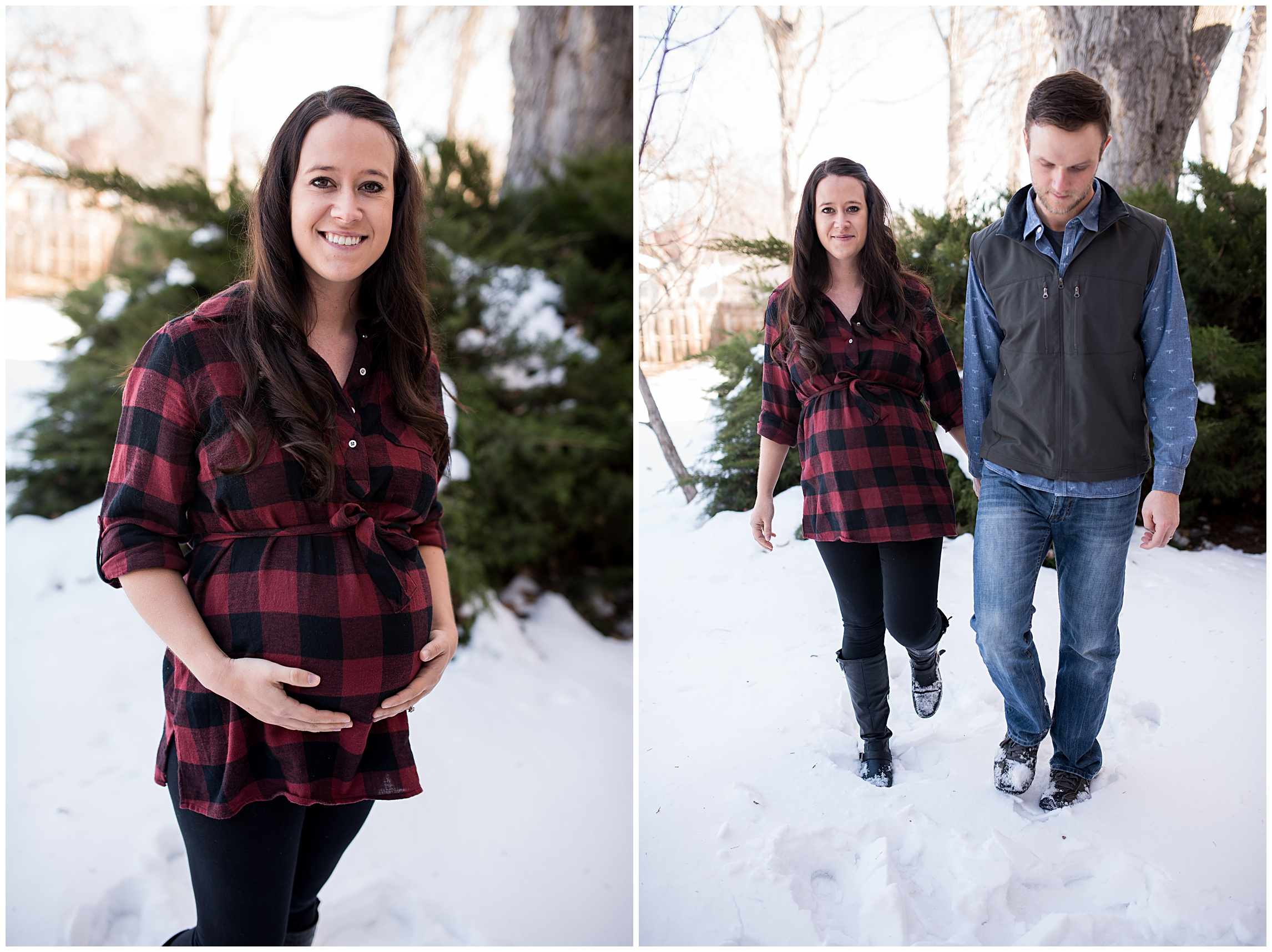 snow-flannel-mother-father-couple-baby-maternity-snowy-northern-colorado-rocky-mountains-meet-the-plains-look-sonjakphotography-film-sonja-k-photography-bump