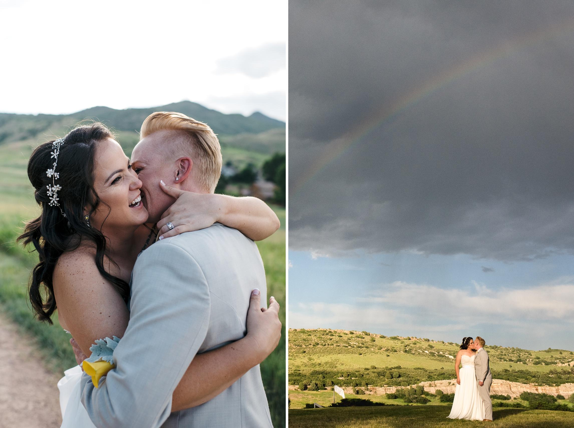 An awesome wedding outside Denver, Colorado. Wedding photography by Sonja Salzburg of Sonja K Photography.