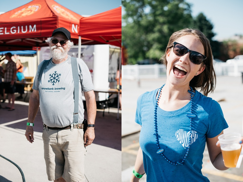 People having fun at the 5th Annual Fort Collins Beer Week Brewers Olympics presented by Fortified Collaborations and Go West T-Shirt Company.