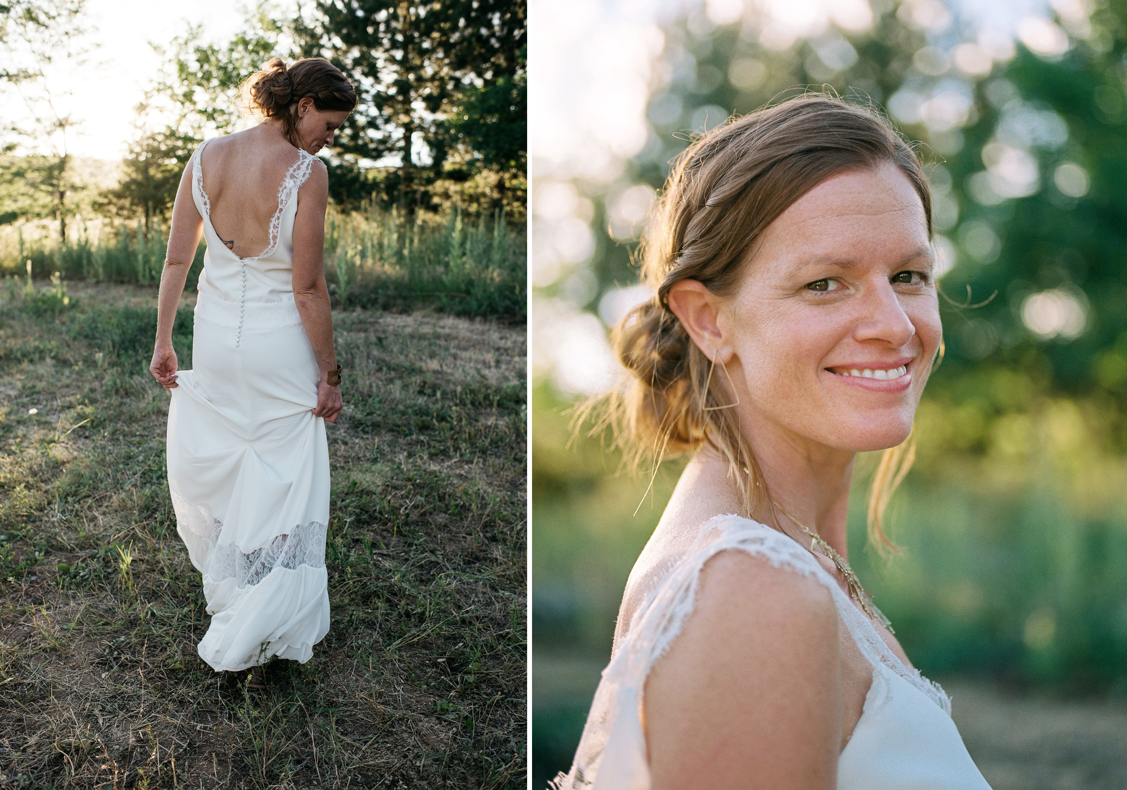 A beautiful bride on her Colorado wedding day. Wedding photography by Sonja Salzburg of Sonja K Photography.