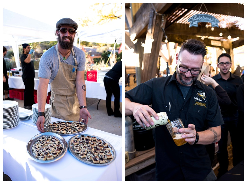 Food and beer are presented at Bounty and Brews in Fort Collins, Colorado. Event photography by Sonja Salzburg of Sonja K Photography.