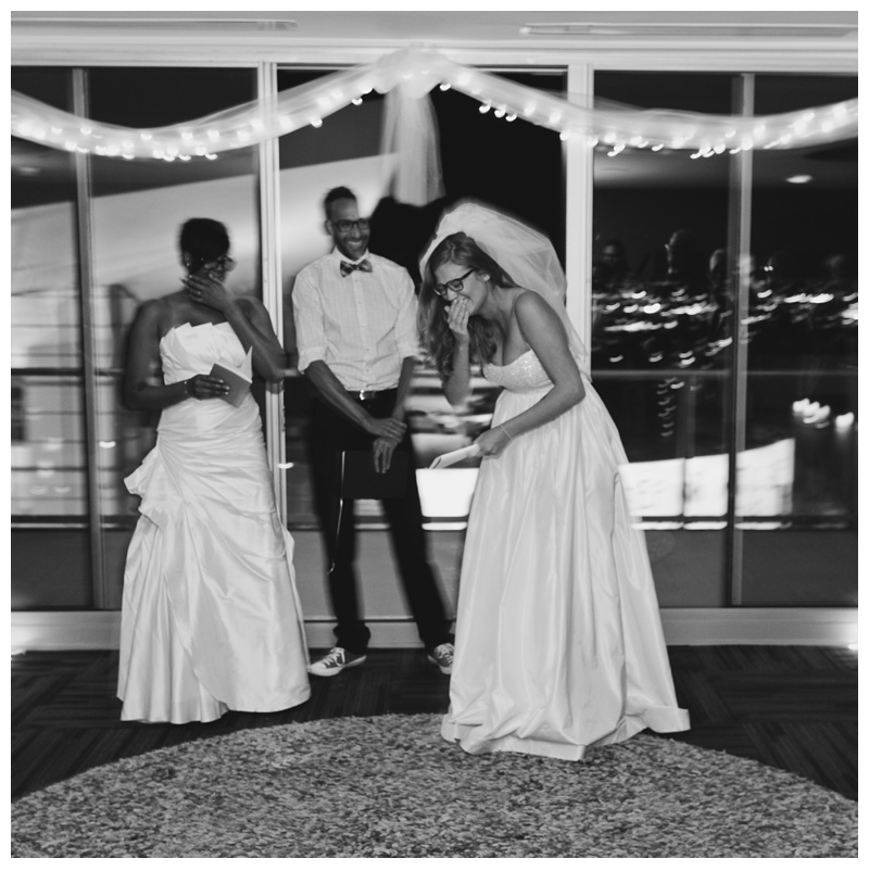 Two brides are married at SPIRE Denver in Colorado. Wedding photography by Sonja Salzburg of Sonja K Photography.