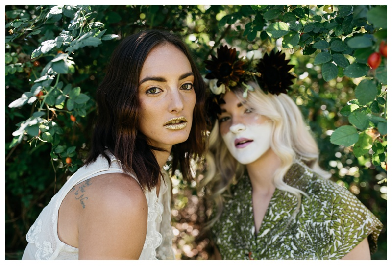 Models from a styled shoot in Fort Collins, Colorado. Fashion photography by Sonja Salzburg of Sonja K Photography.