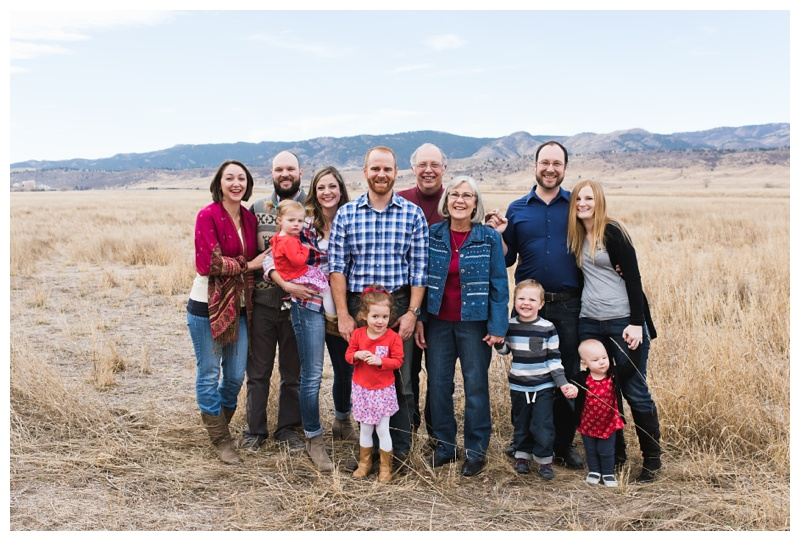 Look at these cute kids! The Birmingham family at Reservoir Ridge in Fort Collins, Colorado. Family portrait photography by Sonja Salzburg of Sonja K Photography.