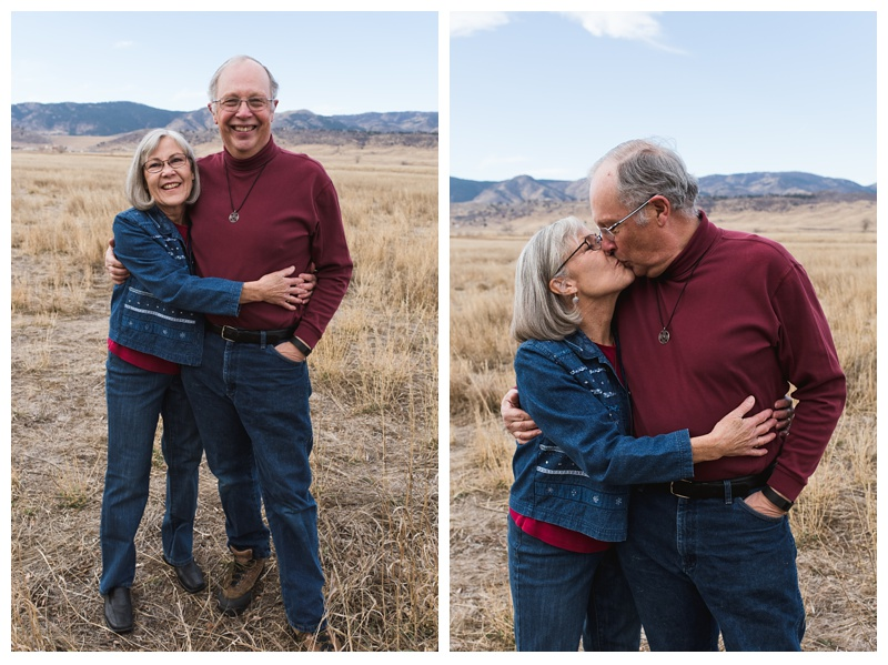 The Birmingham Family at Reservoir Ridge Open Space in Fort Collins, Colorado. Family portrait photography by Sonja Salzburg of Sonja K Photography.