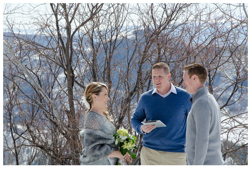 A wedding on Rabbit Ears Pass outside of Steamboat Springs, Colorado. Wedding photography by Sonja Salzburg of Sonja K Photography.