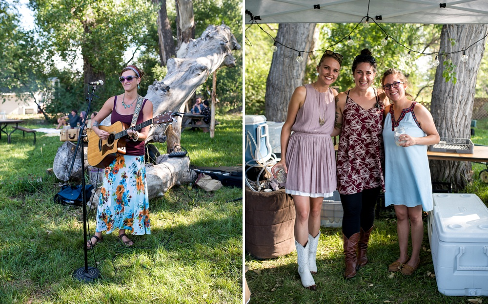 Elise Wunder and the awesome staff of Fortified Collaborations do what they do best at the Hear of Summer Dinner at Happy Heart Farm in Fort Collins, Colorado. Event photography by Sonja Salzburg of Sonja K Photography.