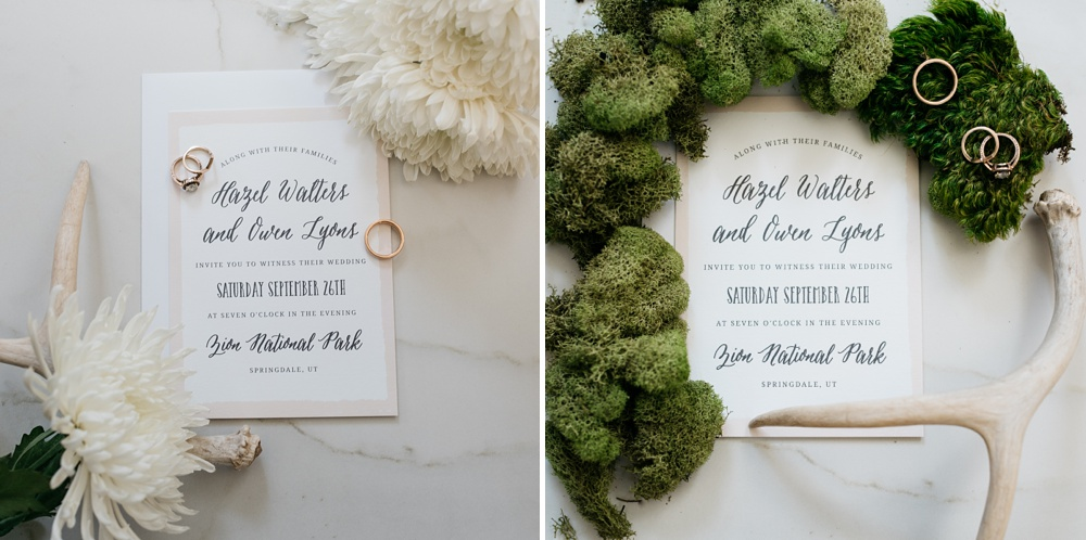 Beautifully printed custom wedding invitations by Basic Invite. Styling by Alyson Michelle of Things Like Stuff. Corporate product photography by Sonja Salzburg of Sonja K Photography.