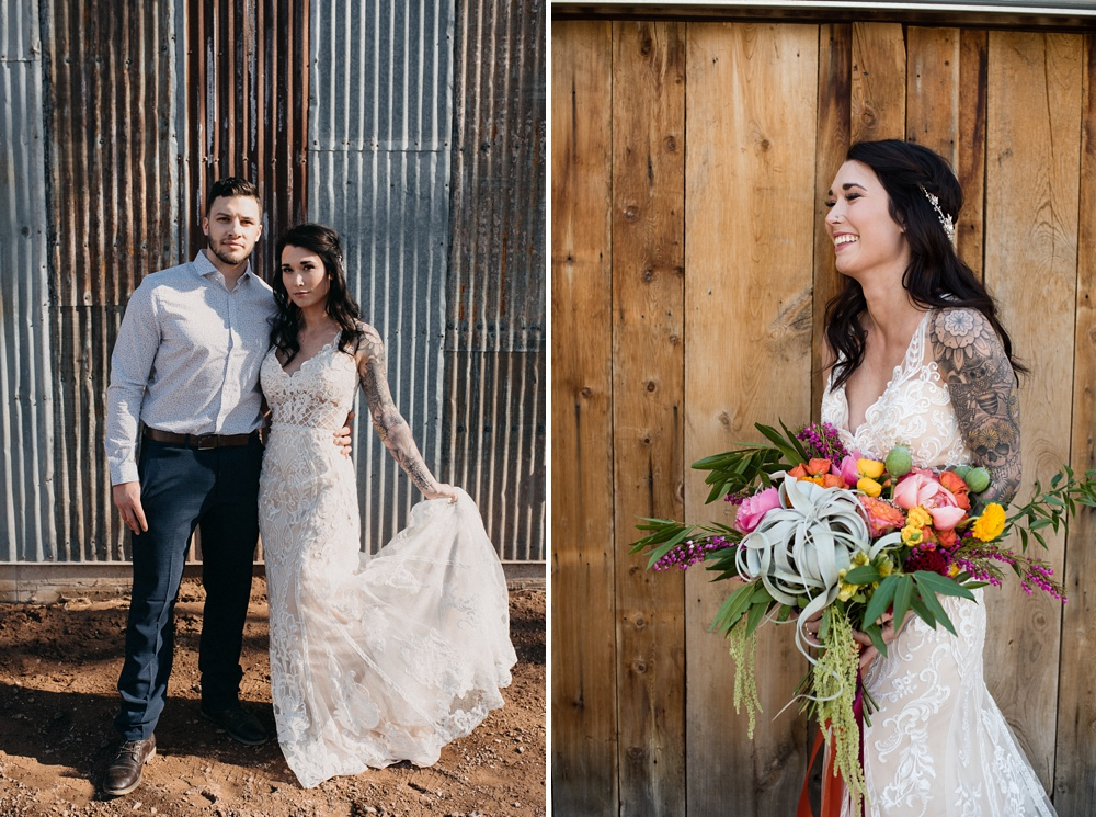 Models Dante DeCarlo and Paije Winkler at a styled shoot at Rist Canyon Inn outside of Laporte, Colorado. Wedding styled shoot by Sonja Salzburg of Sonja K Photography.