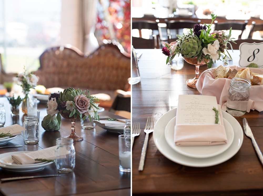 A classic tablescape for a bride and groom's reception at Bella Vista Estate in Steamboat Springs, Colorado. Photography by Sonja Salzburg of Sonja K Photography