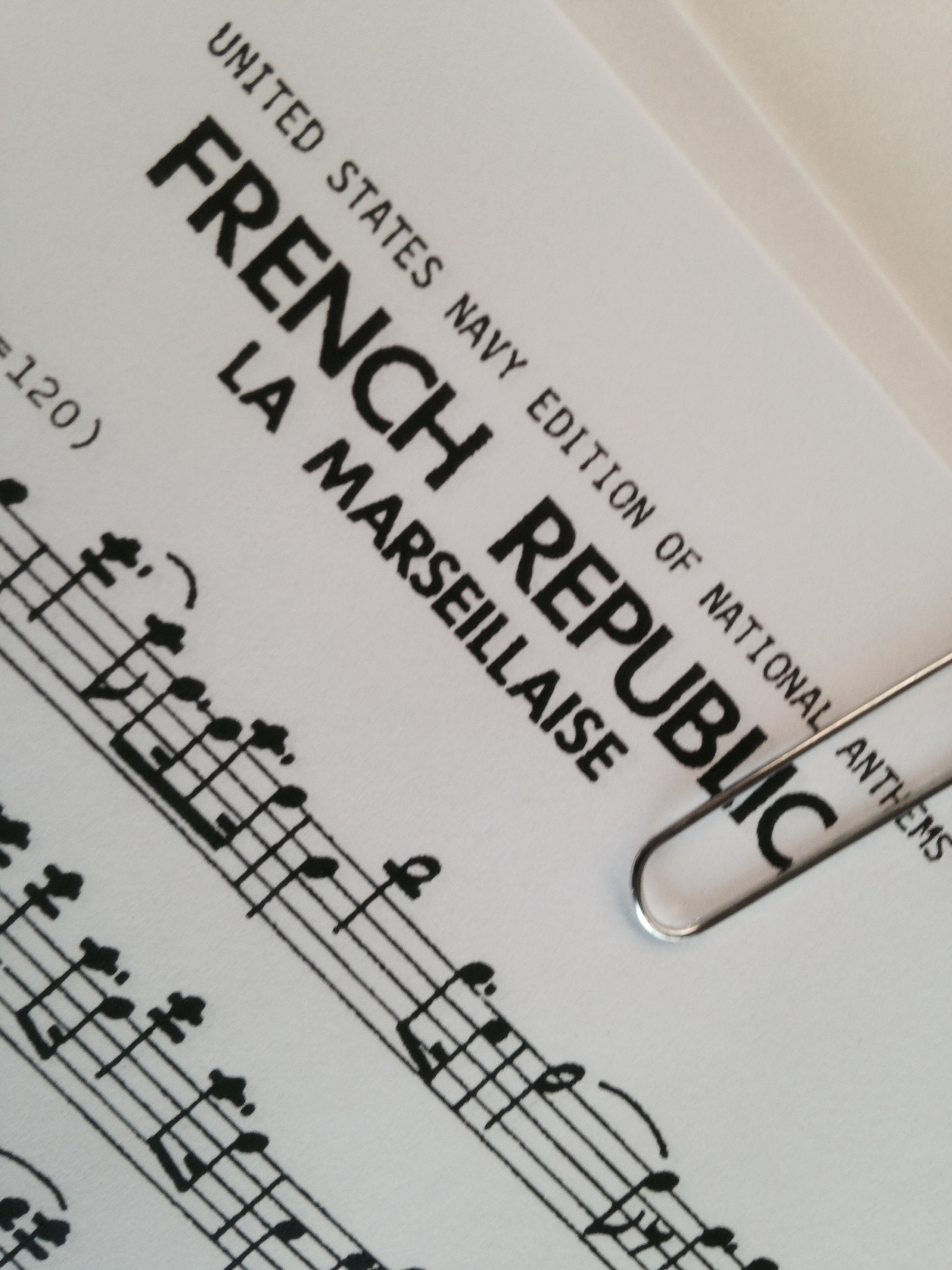 The French Republic Nation Anthem - COOL STUFF!