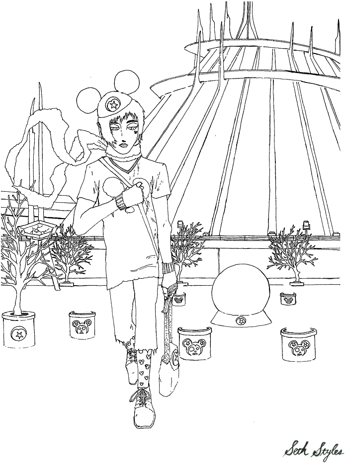 Disney-Orphan-Space-Mountain-Black-White
