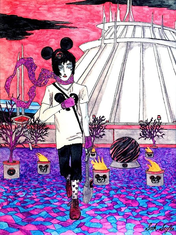 Disney Orphan - Space Mountain