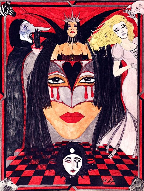 carisa-bianca-mellado-new-queen-portrait-fantasy-horror-art