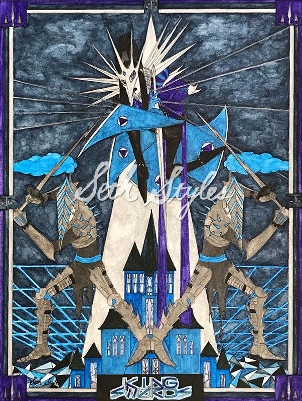 king-of-swords-dark-fantasy-watercolor