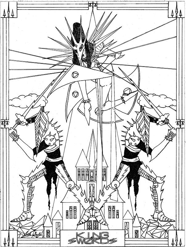 King-of-Swords-black-and-white-sketch-dark-fantasy-illustration