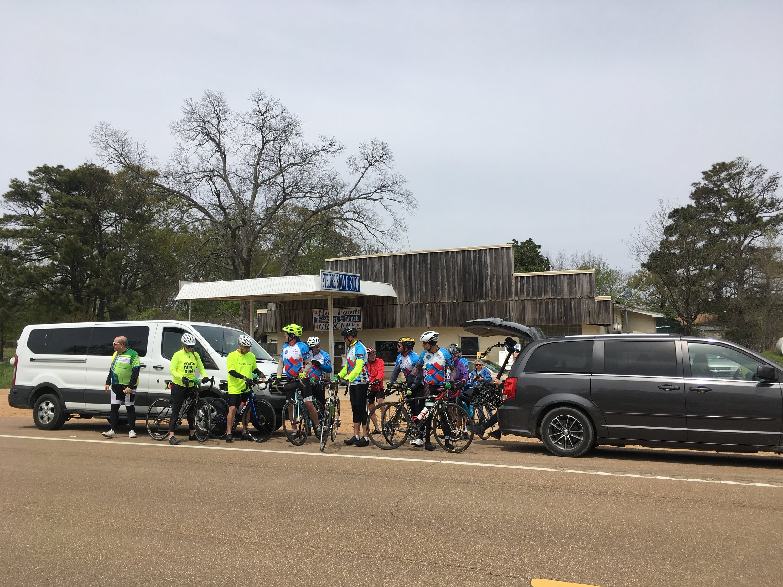 Stop 2 at Phillip, MS on the way to Holcomb, ending the day in Winona, MS.